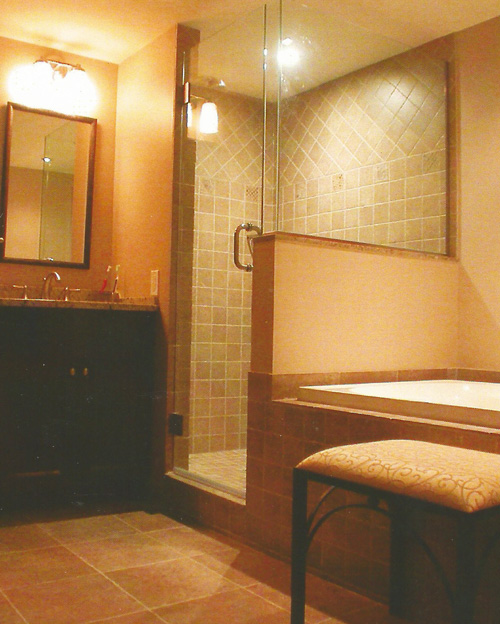 rénovation résidentielle salle de bains