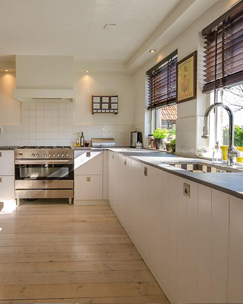 rénovation résidentielle cuisine four